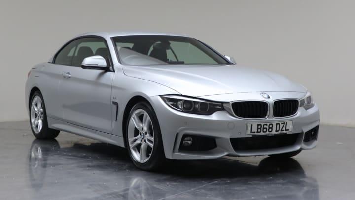 2019 used BMW 4 Series 2L M Sport 420d