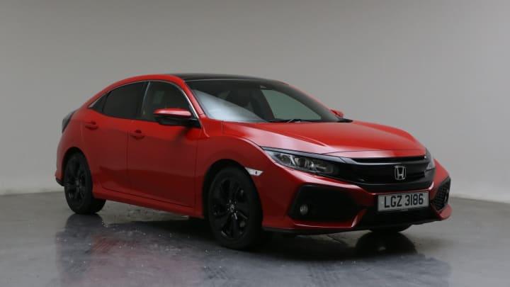 2018 Used Honda Civic 1.6L EX i-DTEC