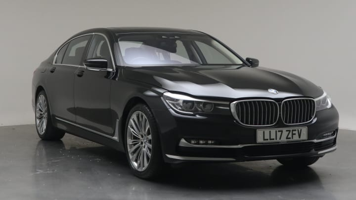 2017 Used BMW 7 Series 3L Exclusive 740Ld