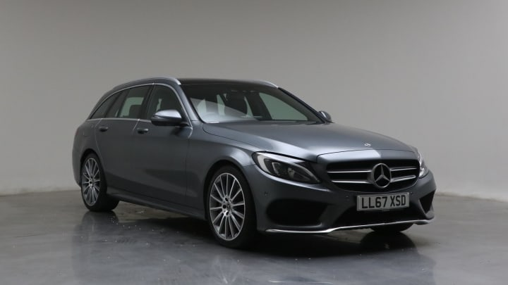 2017 Used Mercedes-Benz C Class 2.2L AMG Line C300dh
