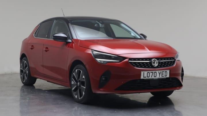 2021 used Vauxhall Corsa Elite Nav Premium 7.4kW Charger