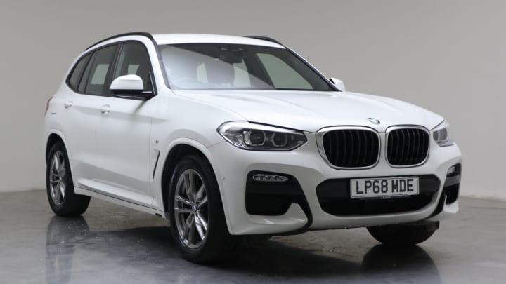 2019 used BMW X3 2L M Sport 20i