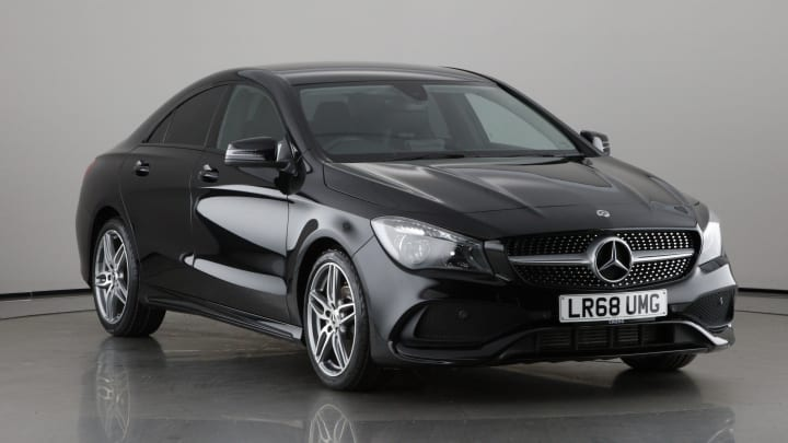 2018 Used Mercedes-Benz CLA Class 1.6L AMG Line Edition CLA180