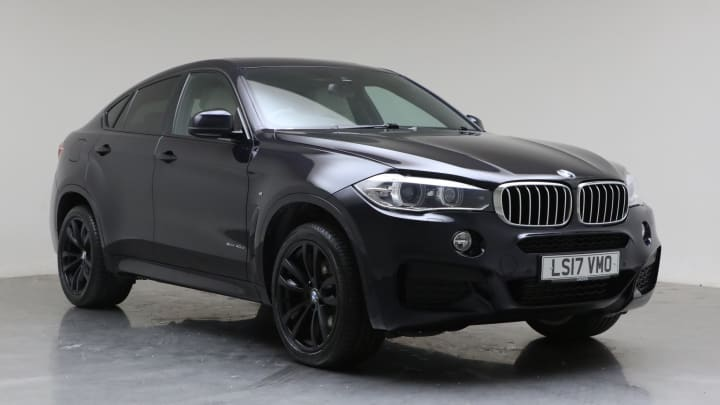 2017 Used BMW X6 3L M Sport 40d