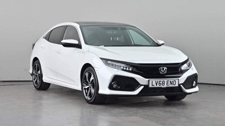 2018 used Honda Civic 1L EX VTEC Turbo