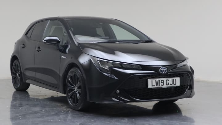 2019 Used Toyota Corolla 1.8L Design VVT-h
