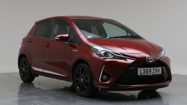 2019 used Toyota Yaris 1.5L Excel VVT-h