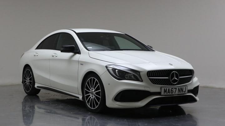 2017 Used Mercedes-Benz CLA Class 2.1L WhiteArt CLA220d