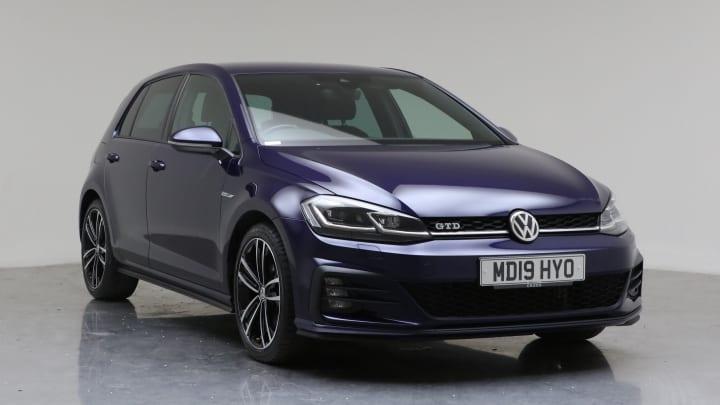 2019 Used Volkswagen Golf 2L GTD TDI