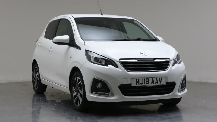 2018 Used Peugeot 108 1.2L Allure PureTech
