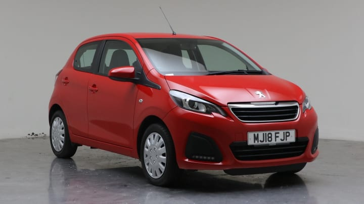 2018 Used Peugeot 108 1L Active