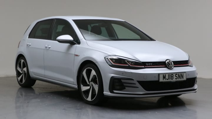 2018 used Volkswagen Golf 2L GTI TSI