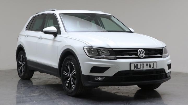 2019 Used Volkswagen Tiguan 1.5L SE Navigation TSI EVO
