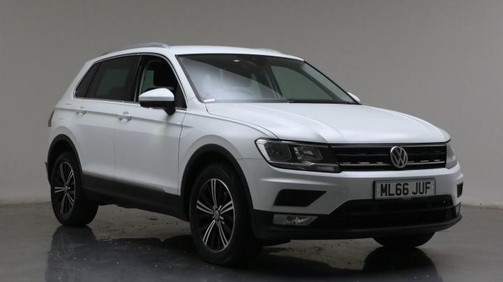 2016 Used Volkswagen Tiguan 2L SE Navigation BlueMotion Tech TDI
