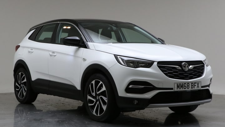 2019 Used Vauxhall Grandland X 1.5L Elite Nav BlueInjection Turbo D