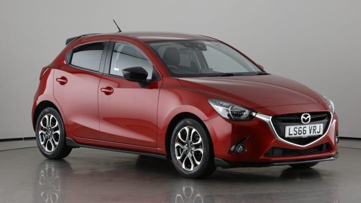 2016 used Mazda Mazda2 1.5L Sport Black SKYACTIV-G