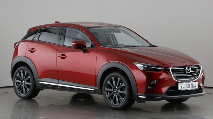 2018 used Mazda CX-3 2L Sport Nav+ SKYACTIV-G