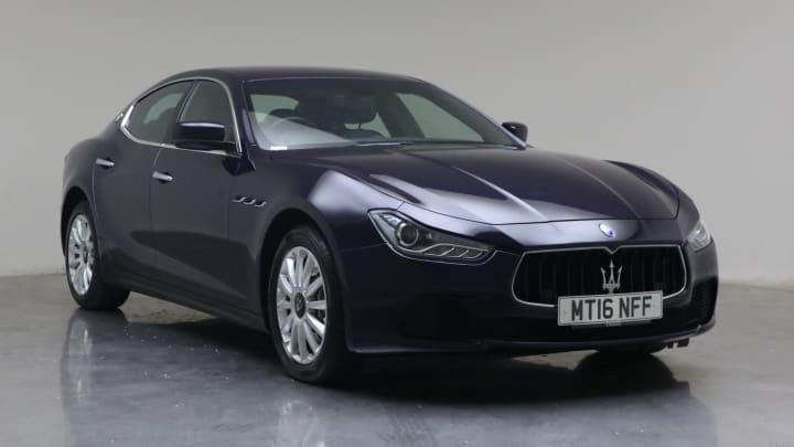 2016 Used Maserati Ghibli 3L TD V6