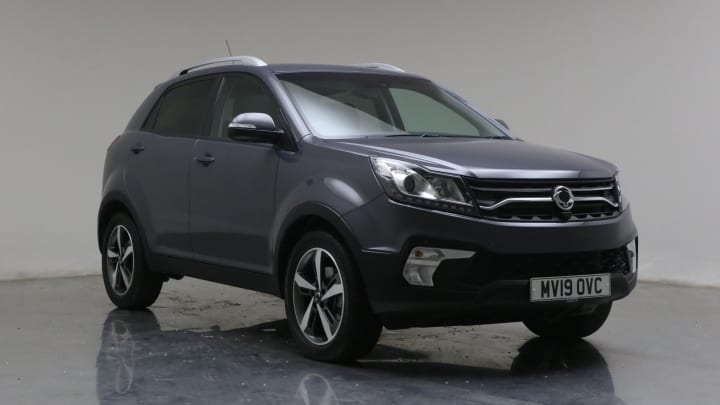 2019 used Ssangyong Korando 2.2L Ultimate D