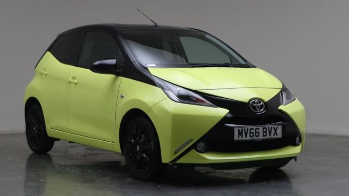 2016 Used Toyota AYGO 1L x-cite 3 VVT-i