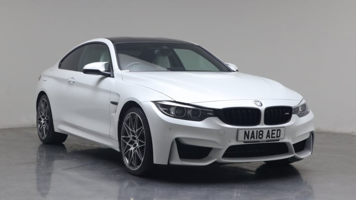 2018 used BMW M4 3L Competition BiTurbo