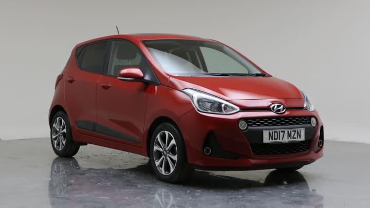 2017 Used Hyundai i10 1.2L Premium SE