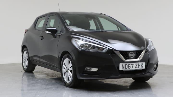 2018 Used Nissan Micra 1L Acenta