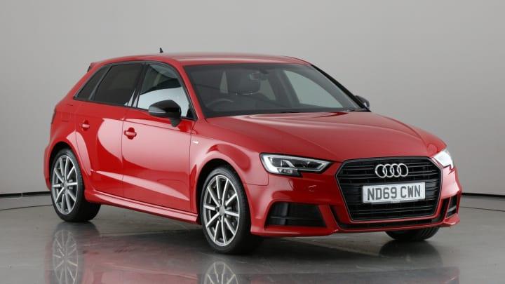 2019 used Audi A3 1L Black Edition TFSI