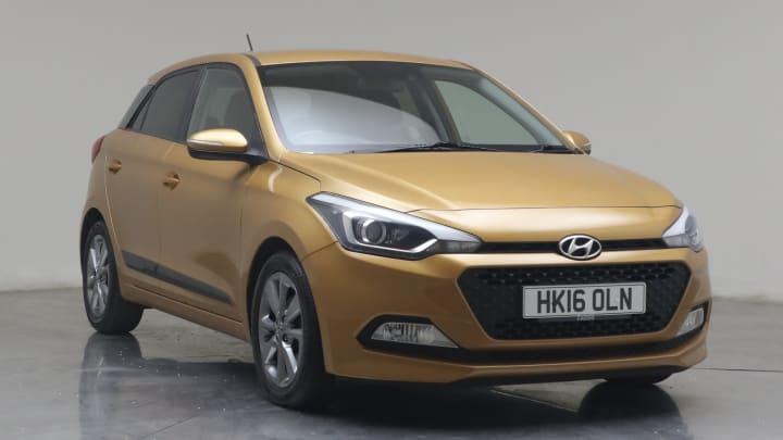 2016 used Hyundai i20 1.2L Premium