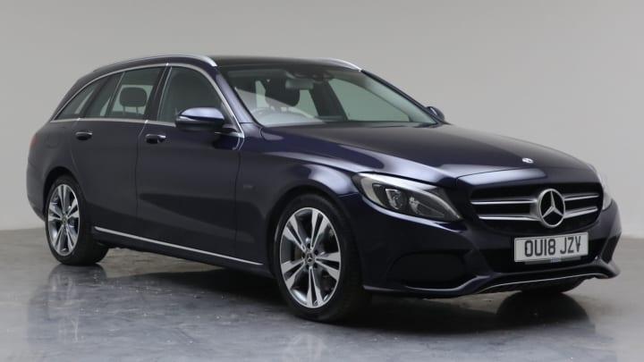 2018 Used Mercedes-Benz C Class 2L Sport C350e