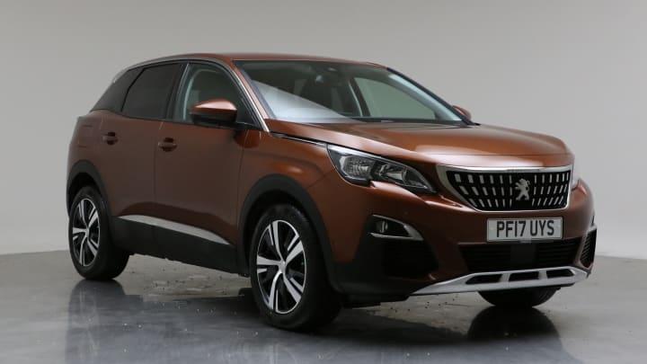 2017 Used Peugeot 3008 1.6L Allure BlueHDi