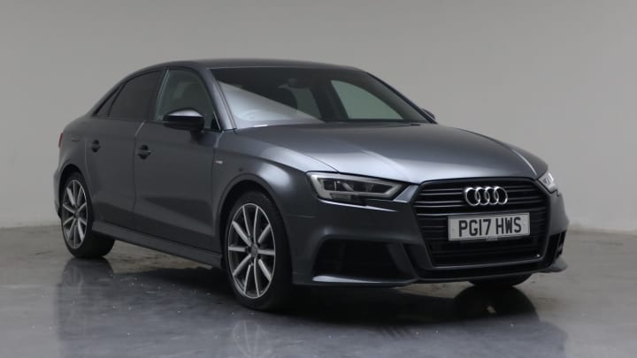 2017 Used Audi A3 1.4L Black Edition CoD TFSI