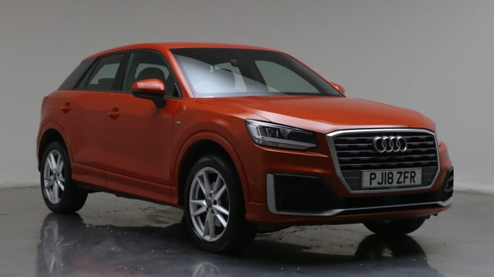 2018 used Audi Q2 1.4L S line CoD TFSI