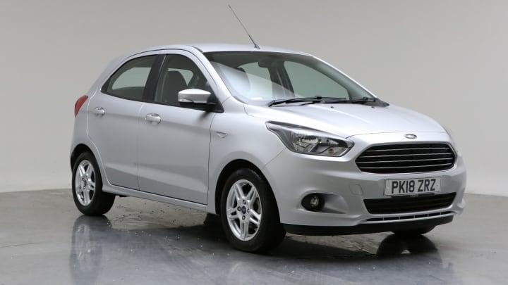 2018 Used Ford Ka+ 1.2L Zetec Ti-VCT