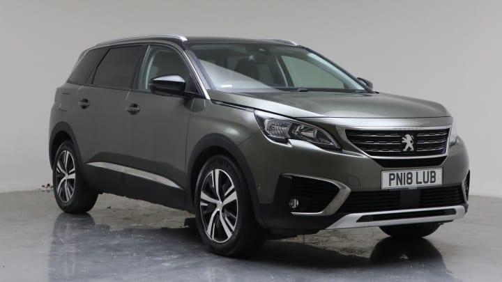 2018 Used Peugeot 5008 1.6L Allure BlueHDi
