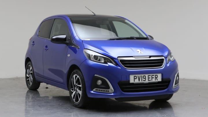 2019 Used Peugeot 108 1L Allure