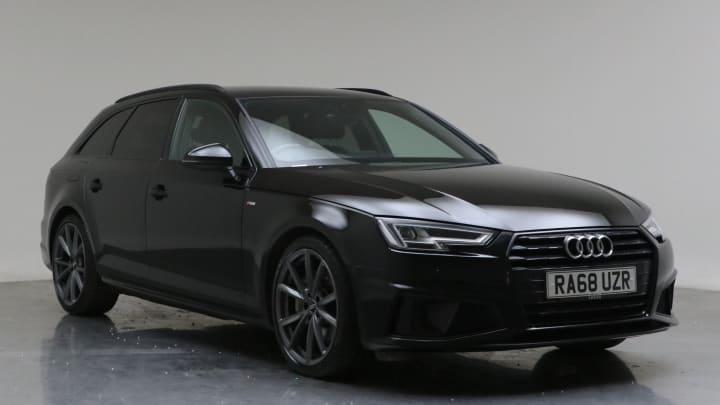 2019 Used Audi A4 Avant 2L Black Edition TDI
