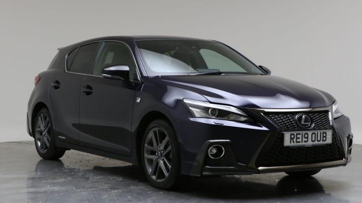 2019 Used Lexus CT 200h 1.8L F Sport 200h