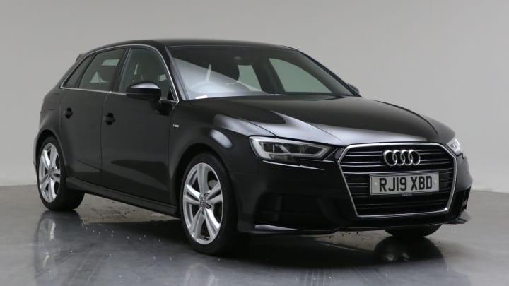 2019 Used Audi A3 1.5L S line CoD TFSI