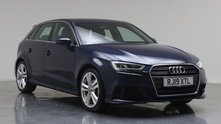 2019 used Audi A3 1L S line TFSI