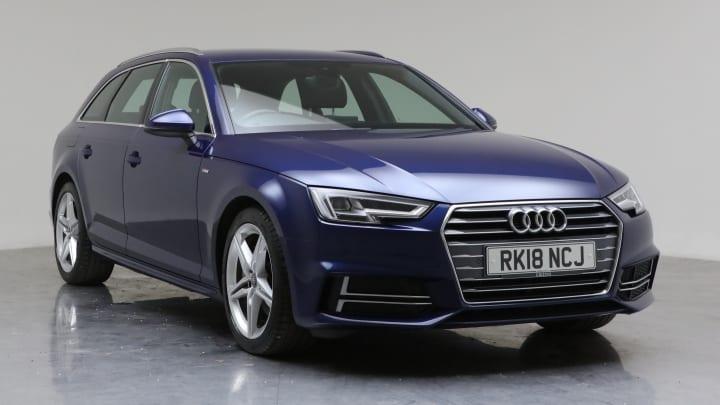 2018 Used Audi A4 Avant 2L S line ultra TDI