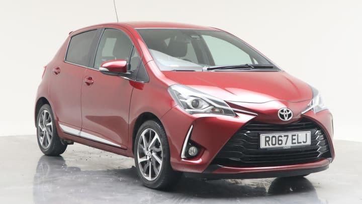 2017 Used Toyota Yaris 1.5L Excel VVT-i