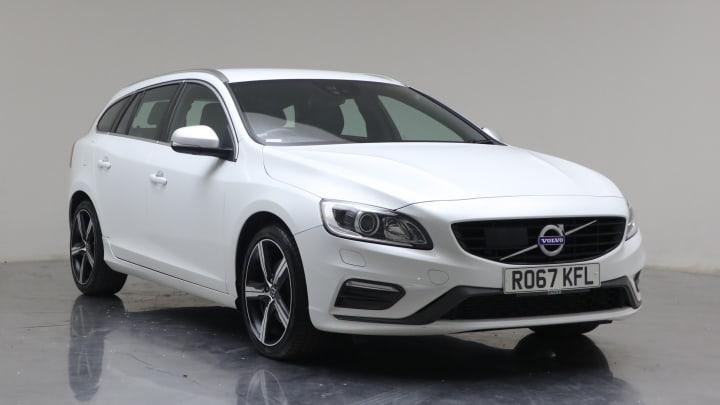 2017 Used Volvo V60 2L R-Design Lux Nav T4