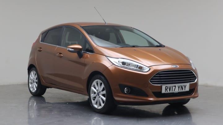 2017 Used Ford Fiesta 1L Titanium EcoBoost T