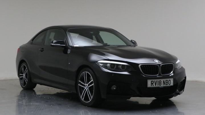 2018 Used BMW 2 Series 2L M Sport 220d