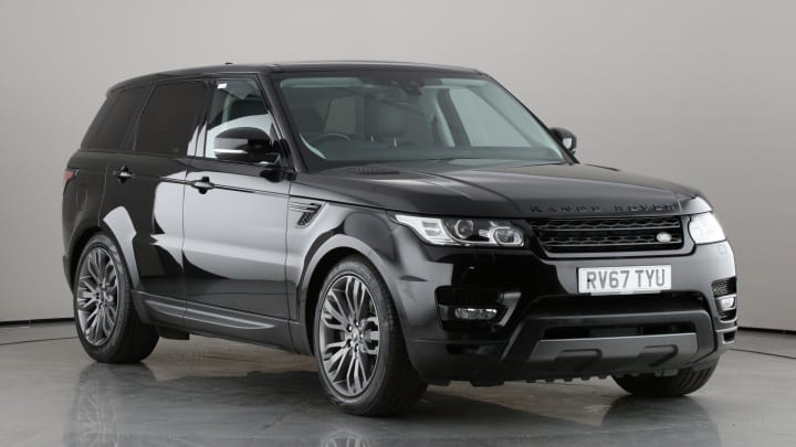 2017 Used Land Rover Range Rover Sport 3L HSE Dynamic SD