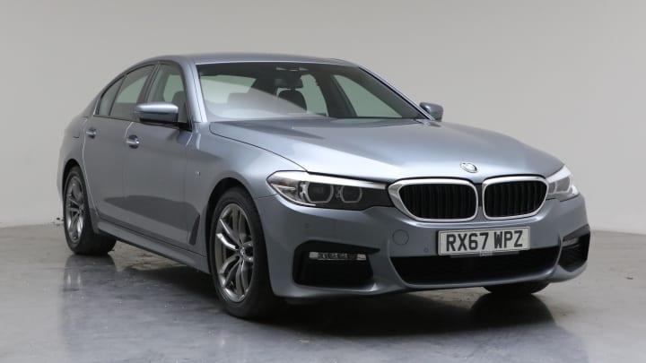 2017 used BMW 5 Series 2L M Sport 520d