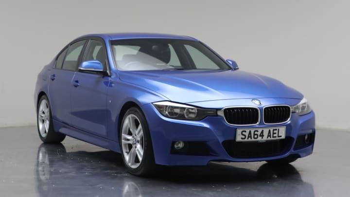 2014 Used BMW 3 Series 2L M Sport BluePerformance 320d