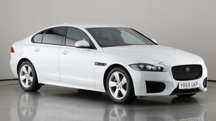 2019 used Jaguar XF 2L Chequered Flag d