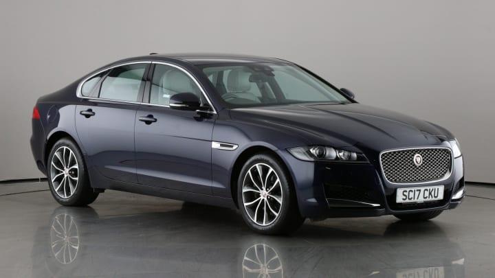 2017 used Jaguar XF 2L Portfolio i
